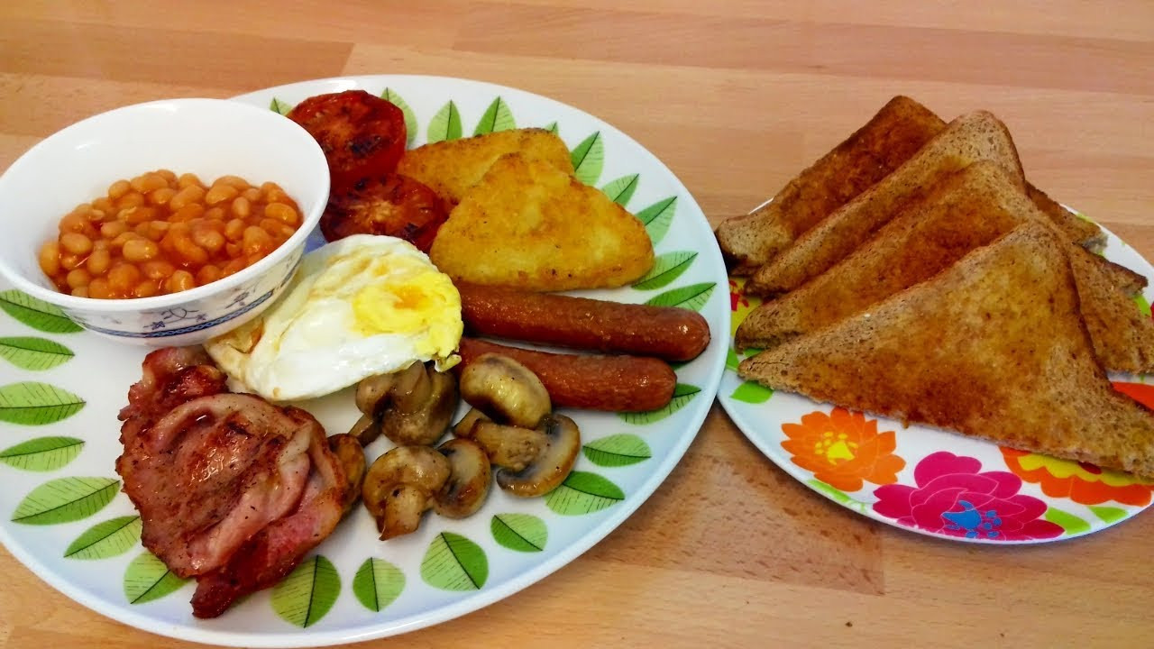 Full English Breakfast Recipe British Breakfast Full English Breakfast Recipe